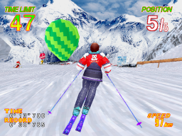 Alpine Racer 2 (ARC)  © Namco 1996   2/4