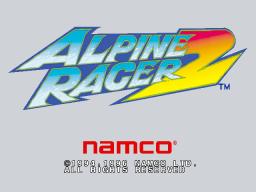 Alpine Racer 2 (ARC)  © Namco 1996   1/4