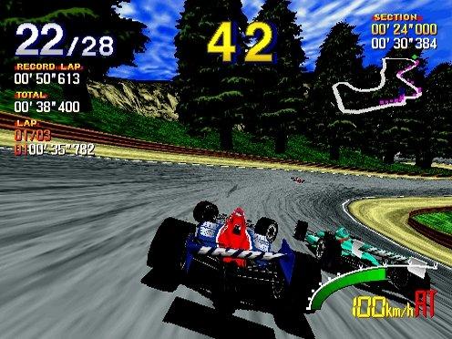 Indy 500 (1995) (ARC)  © Sega 1995   4/5