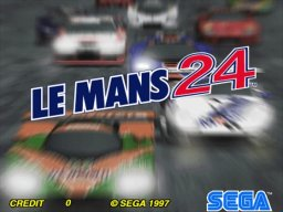 Le Mans 24 (ARC)  © Sega 1998   1/5