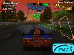 Le Mans 24 (ARC)  © Sega 1998   5/5