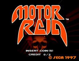 Motor Raid (ARC)  © Sega 1997   1/6