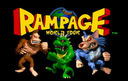 Rampage World Tour (ARC)   © Midway 1997    1/3