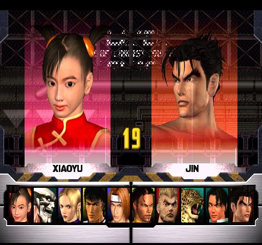 Tekken 3  © Namco 1996  (ARC)   4/4