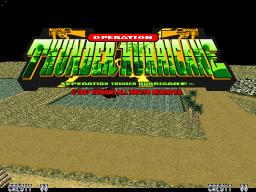 Operation Thunder Hurricane (ARC)  © Konami 1997   1/3