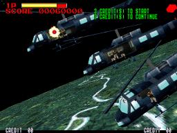 Operation Thunder Hurricane (ARC)  © Konami 1997   2/3