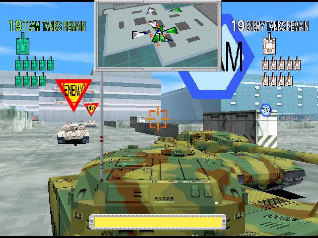 Tokyo Wars (ARC)  © Namco 1996   4/4