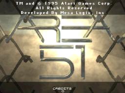 Area 51 (ARC)  © Atari Games 1995   1/5