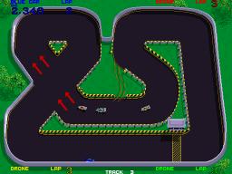 Championship Sprint (ARC)  © Atari Games 1986   2/4