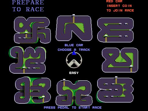 Championship Sprint (ARC)  © Atari Games 1986   4/4