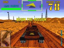 Desert Tank (ARC)  © Sega 1994   3/4