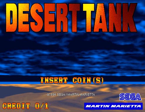 Desert Tank (ARC)  © Sega 1994   4/4