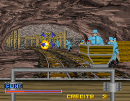 Rail Chase 2 (ARC)  © Sega 1996   2/2