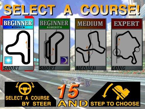 Scud Race (ARC)  © Sega 1996   4/6