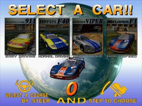 Scud Race (ARC)  © Sega 1996   5/6
