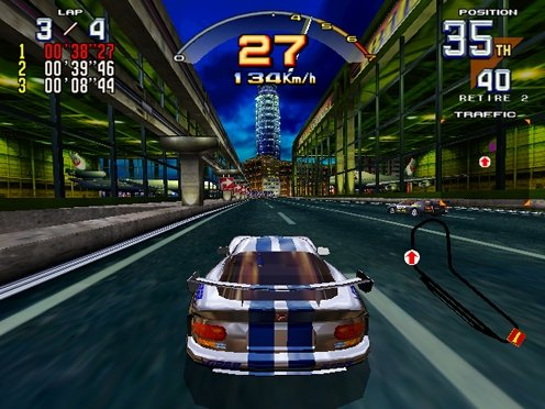 Scud Race (ARC)  © Sega 1996   6/6