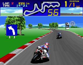 Suzuka 8 Hours (ARC)  © Namco 1992   4/5