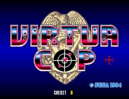 Virtua Cop (ARC)  © Sega 1994   1/4