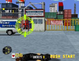 Virtua Cop (ARC)  © Sega 1994   2/4
