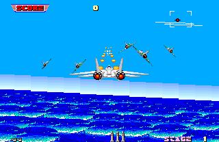 After Burner  © Sega 1987  (ARC)   2/3