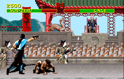 Mortal Kombat  © Midway 1992  (ARC)   2/4