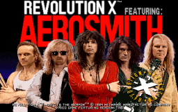 Revolution X (ARC)  © Midway 1994   1/3