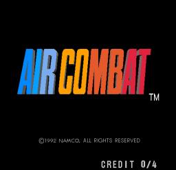 Air Combat (ARC)  © Namco 1992   1/3