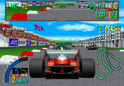 F1 Exhaust Note (ARC)  © Sega 1991   2/3