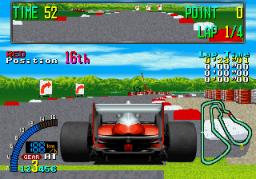 F1 Exhaust Note (ARC)  © Sega 1991   3/3