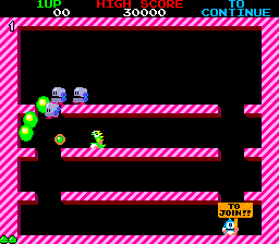 Bubble Bobble (ARC)   © Taito 1986    5/8