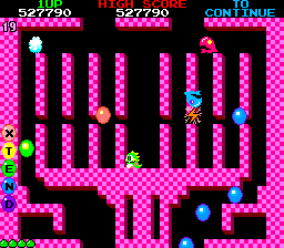 Bubble Bobble (ARC)   © Taito 1986    3/8