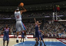 ESPN NBA Basketball (XBX)  © Sega 2003   1/3