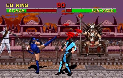 Mortal Kombat II (ARC)  © Midway 1993   4/5