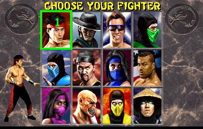 Mortal Kombat II (ARC)  © Midway 1993   5/5