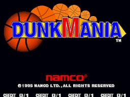 Dunk Mania (ARC)  © Namco 1995   1/4
