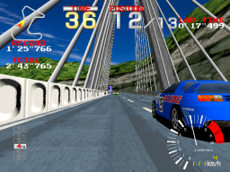Ridge Racer (ARC)  © Namco 1993   2/4