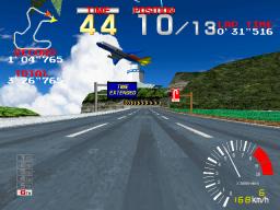 Ridge Racer (ARC)  © Namco 1993   3/4