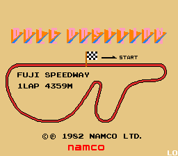 Pole Position (ARC)  © Namco 1982   1/3