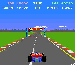 Pole Position (ARC)  © Namco 1982   2/3