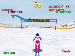 Alpine Racer (ARC)  © Namco 1995   2/3