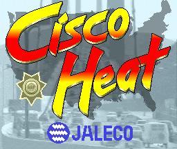 Cisco Heat (ARC)  © Jaleco 1990   1/4