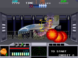Space Gun (ARC)  © Taito 1990   2/5