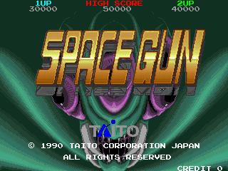Space Gun (ARC)  © Taito 1990   4/5