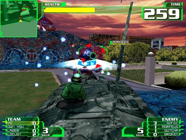 Alien Front Online (DC)  © Sega 2001   5/6