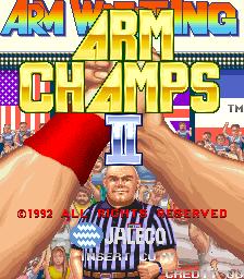 Arm Champs II (ARC)  © Jaleco 1992   1/3