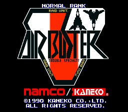 Air Buster (ARC)  © Kaneko 1990   1/5