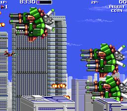 Air Buster (ARC)  © Kaneko 1990   3/5