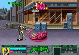 Alien Storm (ARC)  © Sega 1990   2/15