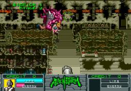 Alien Storm (ARC)  © Sega 1990   3/15