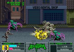 Alien Storm (ARC)  © Sega 1990   4/15